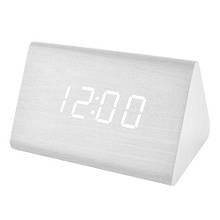 Годинник мережеві VST-864-6 білі, температура, USB