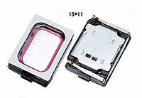 Плифонический динамик buzzer Honor 6 H60-L01/L02/L04/L12 15 x 11 x 3.5 mm