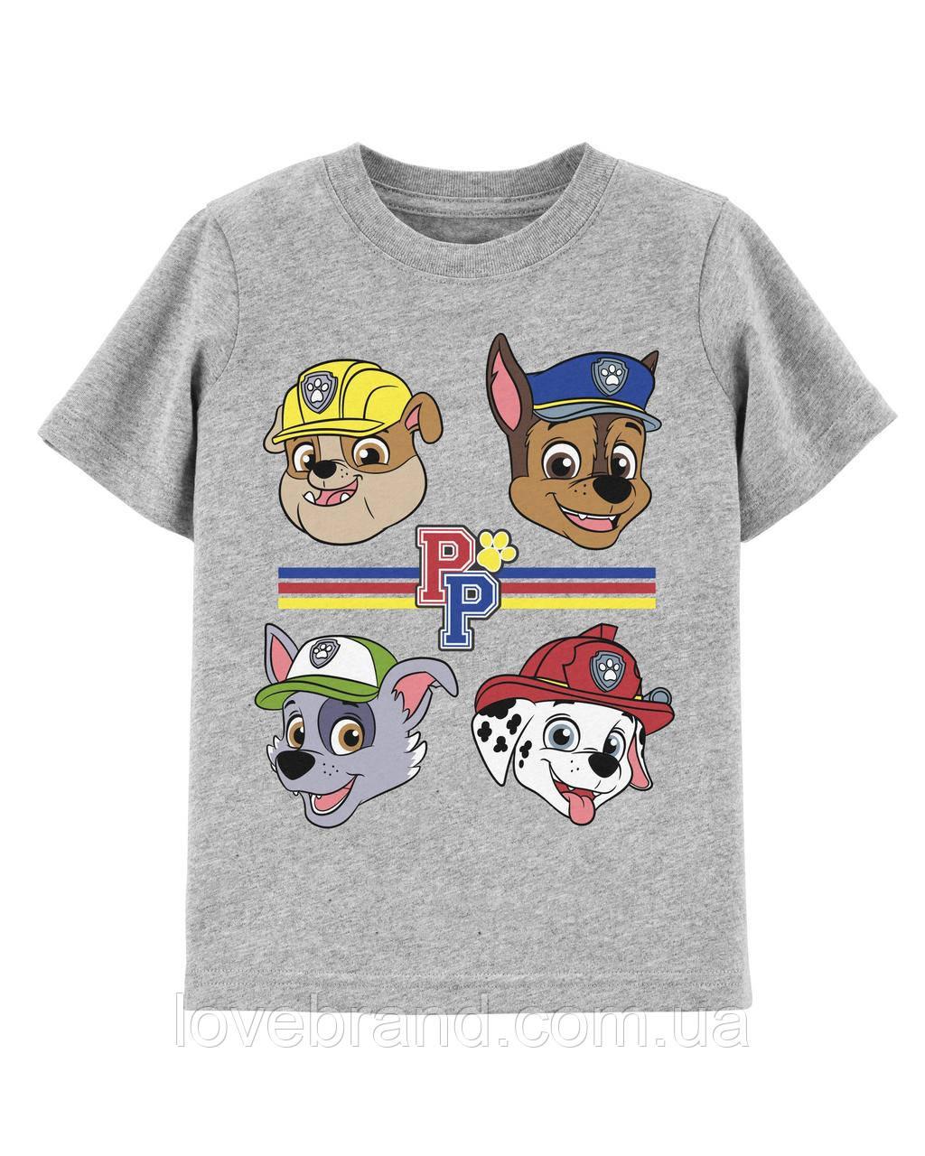 """Фирменная футболка для мальчика Carter's """"Щенячий патруль"""" 2Т/86-93 см"""