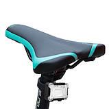 Велосипедний ліхтар + на лоб 1303+COB RGB (red+blue+green), вело кріплення, 3xAAA, фото 3