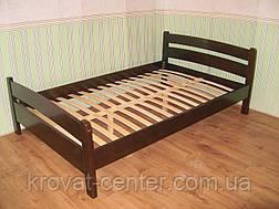 """Кровать полуторная """"Марта"""". Массив - сосна, ольха, береза, дуб., фото 3"""