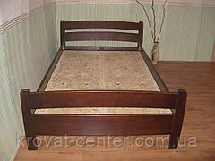 """Кровать полуторная """"Марта"""". Массив - сосна, ольха, береза, дуб., фото 2"""
