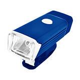 Велосипедний ліхтар BST-001/2278-XPE, ALUMINUM, підсвітка кнопки, Waterproof, акум., ЗУ USB - флешка, фото 4
