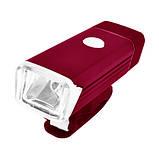 Велосипедний ліхтар BST-001/2278-XPE, ALUMINUM, підсвітка кнопки, Waterproof, акум., ЗУ USB - флешка, фото 5
