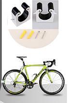 """Крепление шоссейного велосипеда за колесо к стене 23-24мм - колесо 28"""", фото 2"""