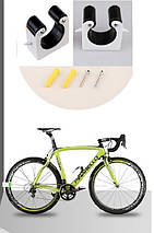 Кріплення шосейного велосипеда за колесо до стіни 23-24мм - вузьке колесо, фото 2