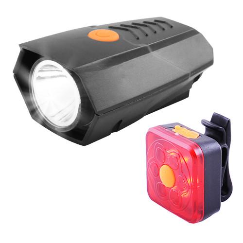 Велосипедний ліхтар BSK-178-2-LM, STOP-6SMD, ЗУ micro USB, вбудований акумулятор