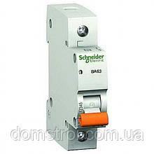 "Автомат 20A, 1-фазний, тип С, ""Домовик"" 11204 Schneider Electric"