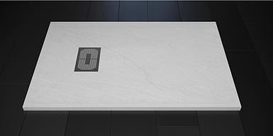 Поддон для душа Weston 120х80х32 белый литой мрамор
