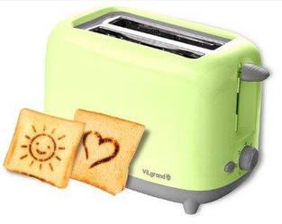 Тостер VILGRAND VT0722Р_green
