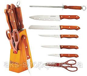 Набор ножей из нержавеющей стали на подставке MAESTRO MR-1403 (8 пр)   кухонный нож Маэстро   ножи Маестро