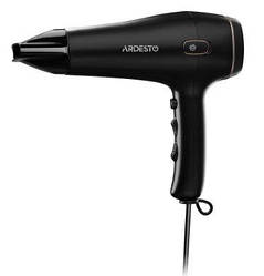 Фен Ardesto HD-Y210 (2100Вт, 2 ск, 3 темп.режима, автосмотка шнура, Черный)