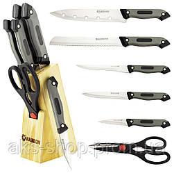 Набор ножей из нержавеющей стали на подставке MAESTRO MR-1407 (7 шт)   кухонный нож Маэстро   ножи Маестро