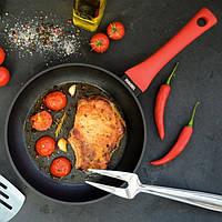 Сковорода 26 см Ringel Chili без кришки RG-1101-26 для індукційної плити, фото 1
