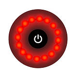 Велофонарь T05-16LED (red), встроенный аккумулятор, ЗУ mircoUSB, фото 6