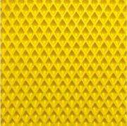 EVA материал для автоковриков (ЭВА листы) 150х100х1см жёлтый