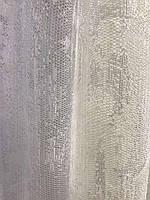 Тюль из жаккарда молочная , высота 2,8м (152-2), фото 3