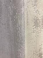 Тюль из жаккарда молочная , высота 2,8м (152-2), фото 2