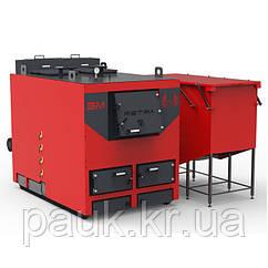 Котел на щепі Ретра-3М Bio 700 кВт, щеповий промисловий котел з бункером