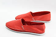 Женские кожаные мокасины Marcha 101-red, фото 3