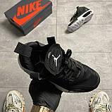 Nike Air Jordan 34 Eclipse Black (Чорний), фото 4