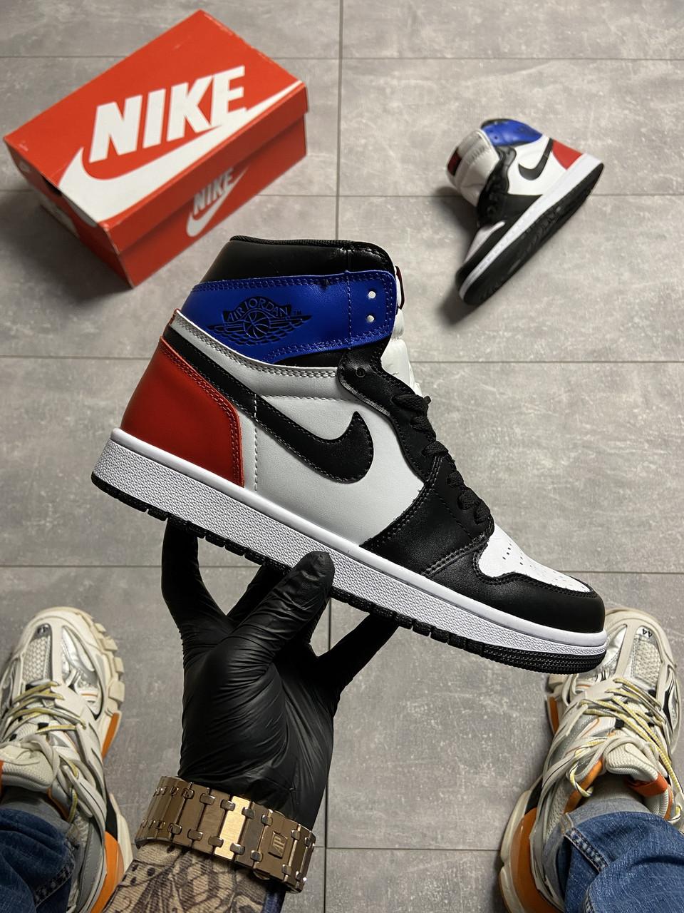 Nike Air Jordan 1 OG SP White Blue Red (Белый)