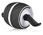 Тренажер колесо для пресса, ролик для пресса с возвратным механизмом   колесо для мышц пресса, фото 2