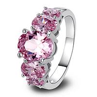 """Кольцо """"Розовый блеск"""", фото 1"""