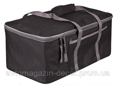 Сумка в багажник плащівка 480х300х200мм BK/GY Штурмовик АС-1538