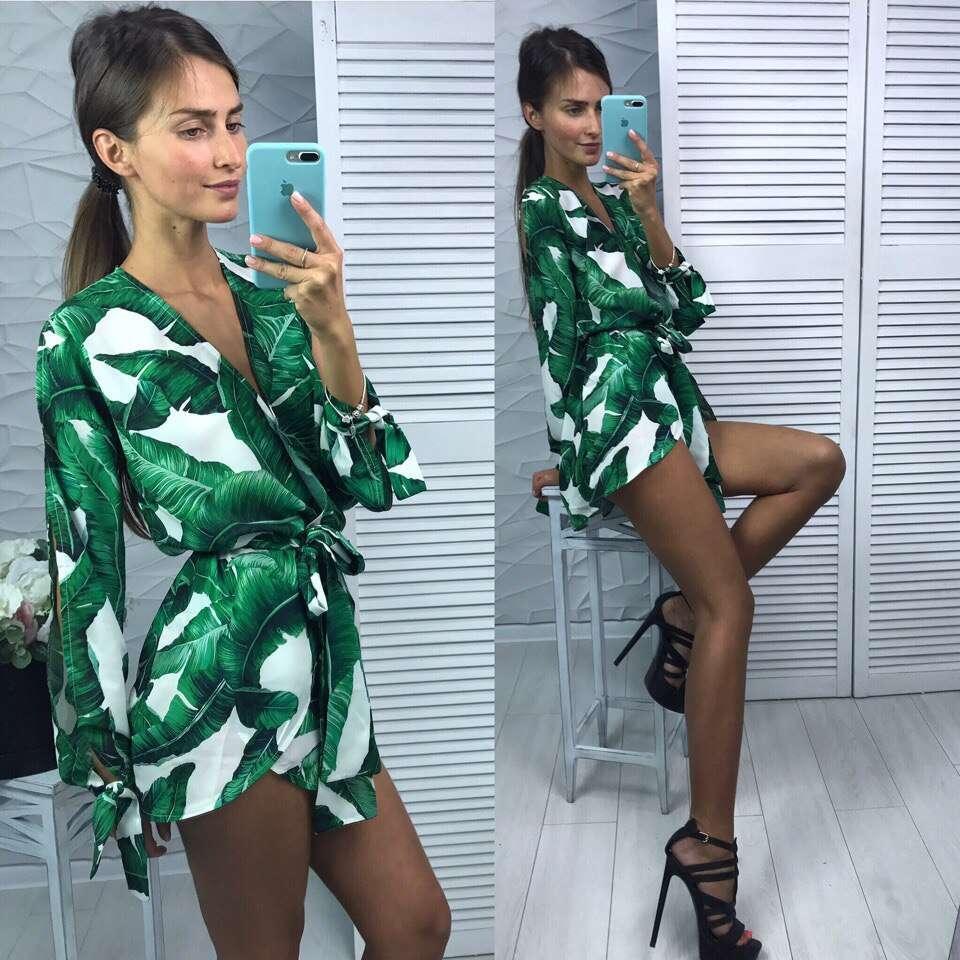 Женский костюм Butterfly green