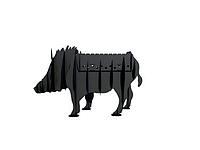 Мангал стационарный в форме животного Vesuvi Кабан