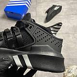 Adidas EQT Equipment ADV Black (Чорний), фото 3