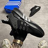 Adidas EQT Equipment ADV Black (Чорний), фото 4