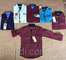 Сорочка джинсова для хлопчиків 9-12