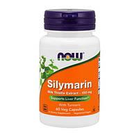 Силимарин (Расторопша) 150 мг Now Foods 60 капсул