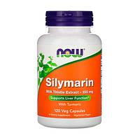 Силимарин (Расторопша) 150 мг Now Foods 120 гелевых капсул