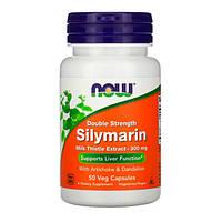 Силимарин (Расторопша) 300 мг Now Foods 50 капсул