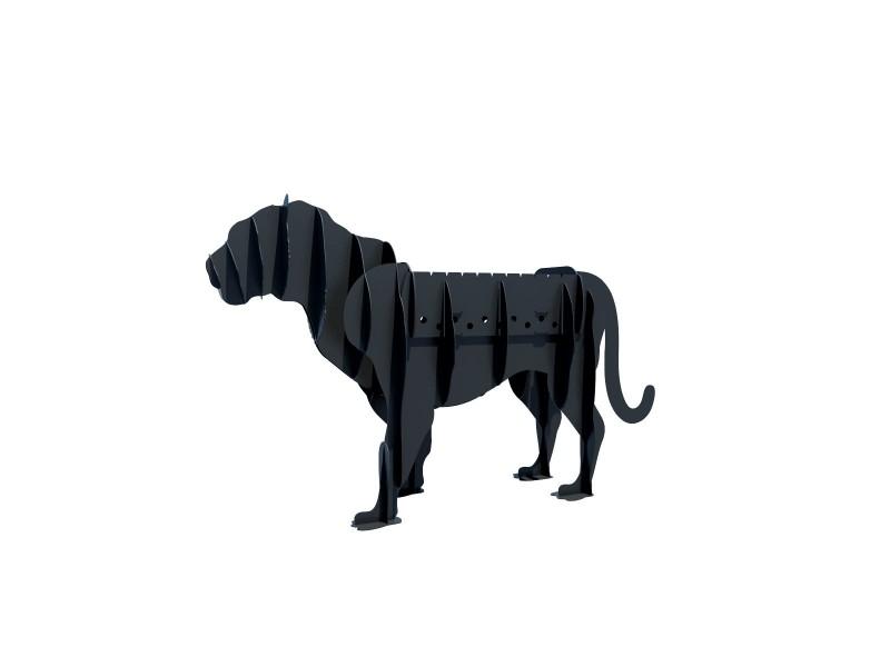 Мангал стационарный в форме животного Vesuvi Тигр