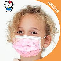 ✨ Детские медицинские маски с рисунком упаковка 50 шт. ✨, фото 1