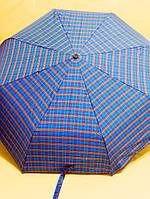 Зонт женский автомат облегченный принт клеточка