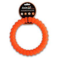 АнимАлл Фан Кольцо с шипами 20 см оранжевое