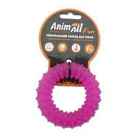 AnimAll Игрушка Fun кольцо с шипами, фиолетовый, 9 см (88164)