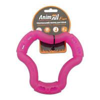AnimAll Игрушка Fun кольцо 6 сторон, фиолетовый, 15 см (88214)