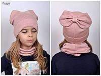 Стильная подростковая  комфортная  шапка ПОДИУМ