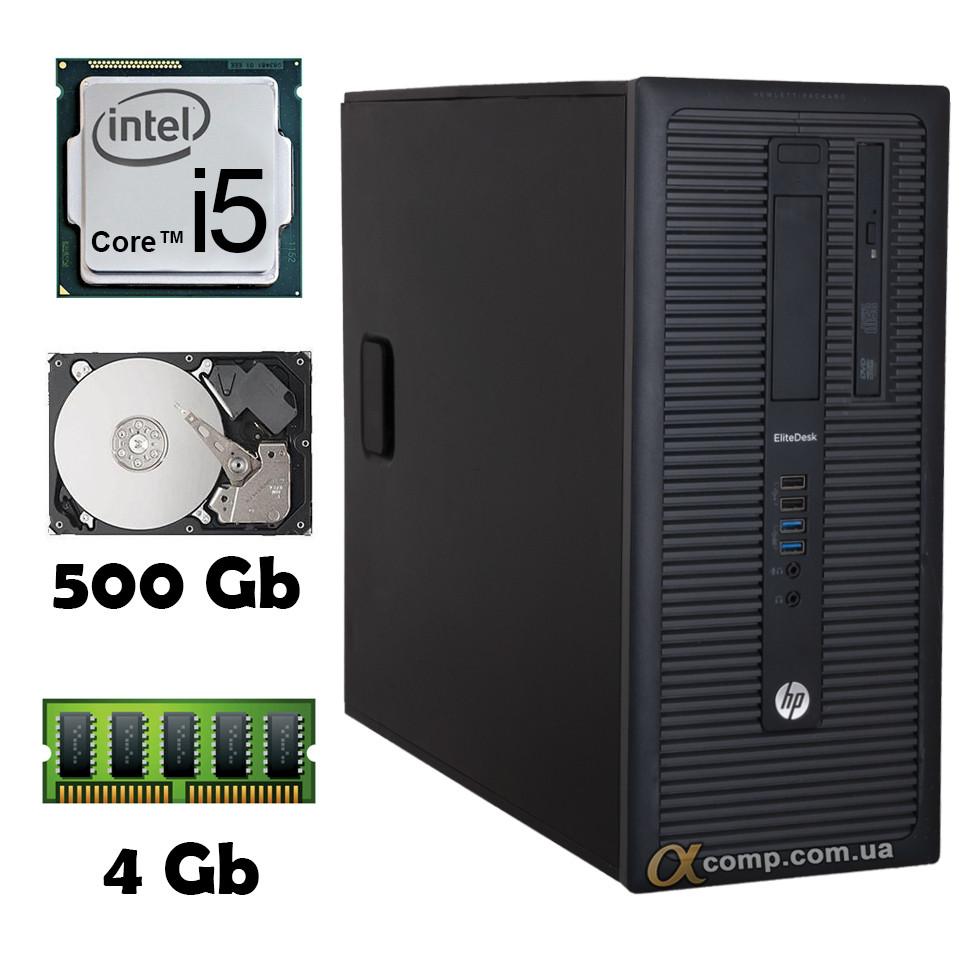 HP 800 G1 (i5-4430 • 4Gb • 500Gb) MT