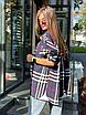 Жіноча сорочка в клітку Vintage blue, фото 3