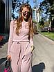 Женский костюм Riga пудра, фото 3
