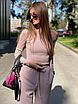 Женский костюм Riga пудра, фото 6