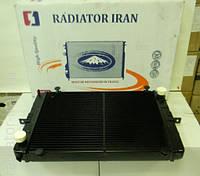 Радиатор ГАЗель старого образца с ушами 2 рядный медный (до 1999 г.в.) (пр-во Иран Радиатор)