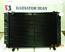 Радиатор для Газель со штырями 3 рядный медный пр-во Иран Радиатор, фото 3